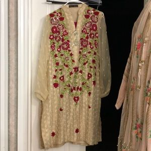 Annus abrar formal Pakistani Indian outfit